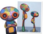 Obras de TINHO que estarão em exposição