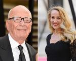 Rupert Murdoch e Jerry Hall devem assumir o romance no sábado