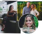 Fatima Bernardes, Luisa e Carlos Henrique Schroder