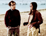 "Woody Allen e Diane Keaton em cena de ""Noivo Neurótico Noiva Nervosa"""