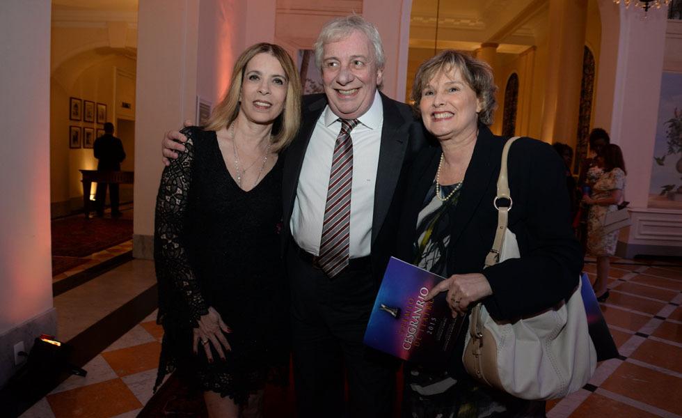 Liege Monteiro, Marcos Nanini e Louise Cardoso