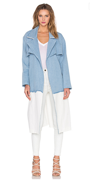 Trench-coat Kendall + Kylie, à venda por R$ 1.057