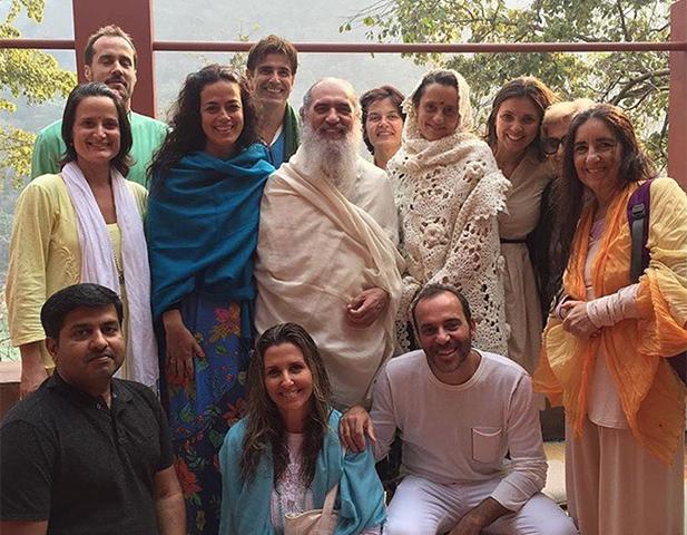 Reynaldo Gianecchini está em Rishikesh, na Índia