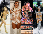 Da esquerda para a direita: Claudia Leitte, Ivete Sangalo, Daniela Mercury e Anitta