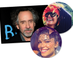 Tim Burton, Camila Pitanga e Grazi Massagera: selvagens