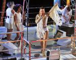 Claudia Leitte no comando do trio Largadinho
