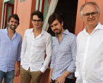Jorge Peixoto, Victor Carvalheira, Rafael Lobo e Eduardo Carvalheira