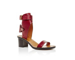 Jaeryn Leather Gladiator Sandals de Isabel Marant