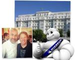 Alex Atala com Claude Troisgros, o Copacabana Palace e o mascote da Michelin: dia de estrelas