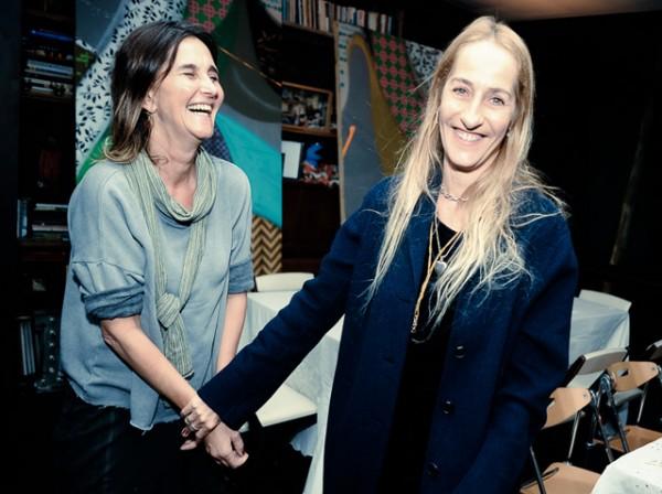Muriel e Michelle Matalon
