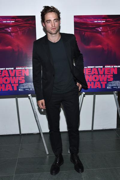 """Durante a estreia de """"Só Deus Sabe"""" em maio de 2015, em Nova York"""