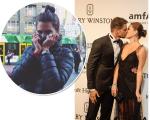 Mariana Goldfarb na Austrália e o casal no gala da amfAR \ Créditos:  Reprodução Instagram/ Andre Ligeiro