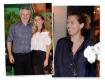 Carlos Henrique Schroder com a filha Luisa Schroder mais Patricia Pillar: tudo em paz