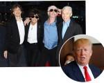 Rolling Stones insatisfeitos com Trump