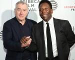 Robert DeNiro e Pelé