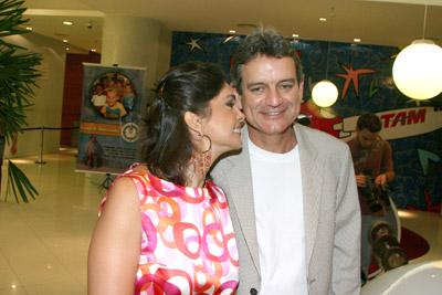 Rosangela Lyra e Laércio Vasconcellos