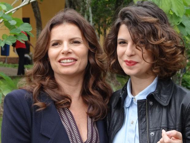 Debora Bloch Filhos Débora Bloch leva...
