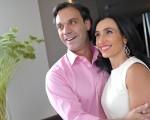 A empresária Valeria Beraldin e o joalheiro Mario Pantalena