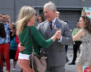 Príncipe Charles se esbalda em pista de dança na Nova Zelândia