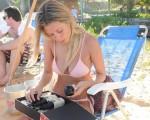 Stephanie Consoli com o kit Laces