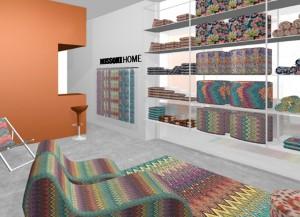Glamurettes cariocas: Missoni Home inaugura primeira loja no Rio