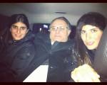 Sofia, Marcos e Duda Derani em foto by Tania em Nova York