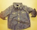 Primeira peça fashion que Carol Trentini comprou para o filho