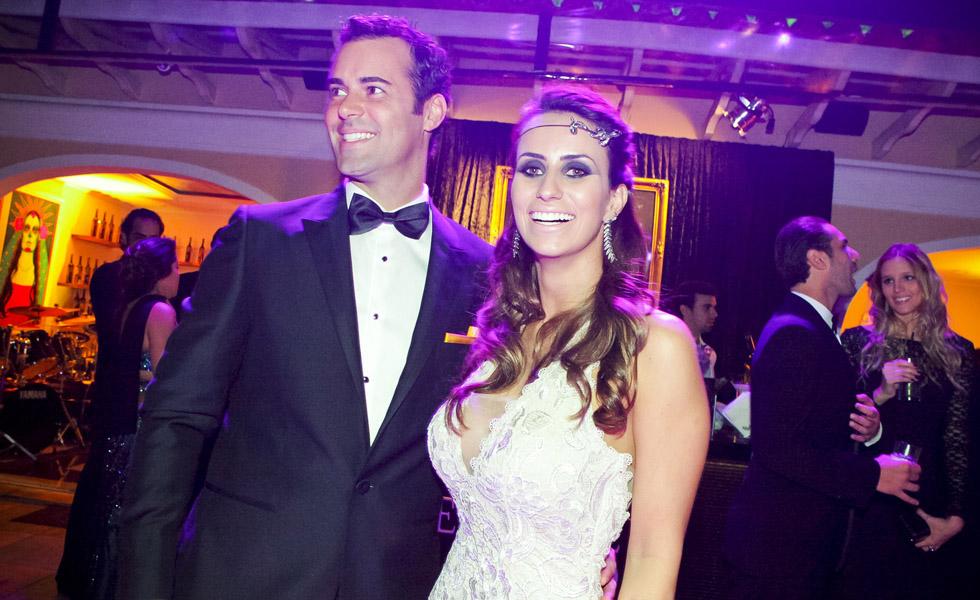 Eduardo Scarpa e Victoria Vieira