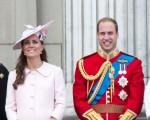 Kate Middleton e príncipe William na última aparição pública da neo mamãe
