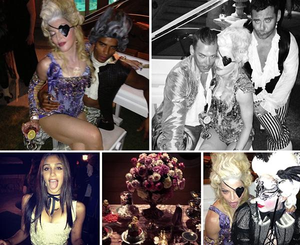 Madonna e o namorado, a anfitriã com a dupla de fotógrafos Mert Alas ...