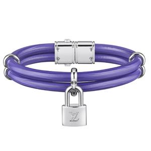 Bracelet Keep It Twice en cuir epi figue.