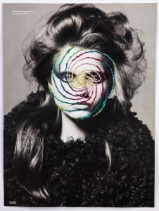 Arte na mira: artista chileno mistura fotos P&B com bordados coloridos