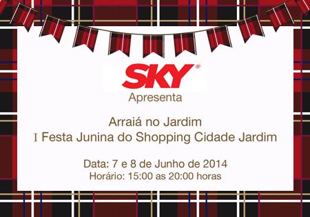 Shopping Cidade Jardim j? est? em clima de Festa Junina ...