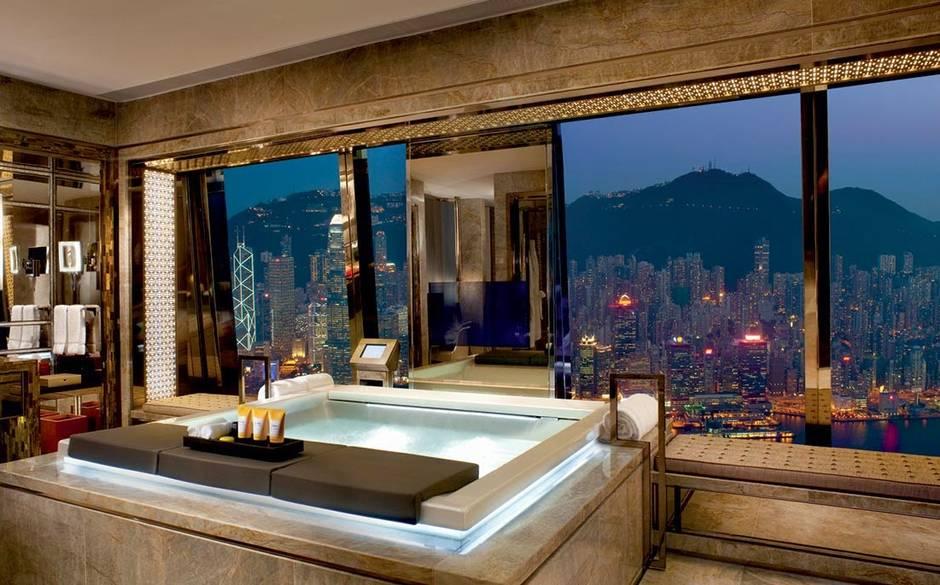 Pelo Mundo Os 13 Banheiros Mais Incrveis Dos Hotis De