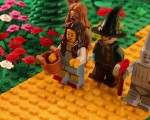 """""""O Mágico de Oz"""" recriado em Lego pelo artista"""