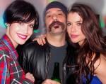 Mayana Moura, Mauro Lima e Alinne Moraes