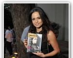 Nanda Costa na festa de aniversário da revista J.P