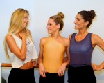 Yasmin Brunet, Bettina Dantas e Cynthia Howlett