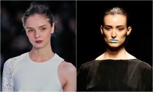 """Japão e Turquia iniciam suas semanas de moda com """"bocas marcantes"""""""