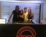 Primeira turma: check! Mario Velloso, Stella Jacintho, Pedro Braun e Pietra Bertolazzi na última aula do Projeto DJ School