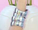 Desejo do Dia: as pulseiras de alumínio reciclado de Jana Favoreto
