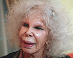 Spain's Duchess of Alba Cayetana Fitz-James Stuart y Silva attends a presentation of her new biography