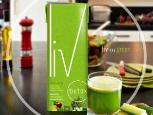 Detox já! O novo suco verde da Liv para um up na energia