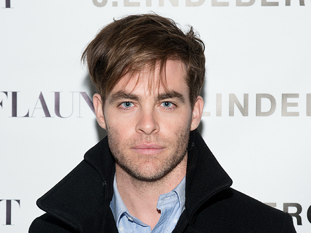 NEW YORK, NY - NOVEMBER 22: Actor Chris Pine attends the Celebration of Chris Pine's cover of Flaunt Magazine at Beautique on November 22, 2014 in New York City.  (Photo by Noam Galai/Getty Images for Flaunt Magazine)