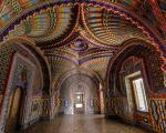 A Sala do Pavão, no Castello di Sammezzano, na Itália