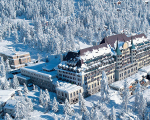 O hotel Suvretta House, em St Moritz, na Suíça