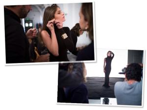 Elisa Sednoaui no making of da campanha da Talento. Confira os cliques!