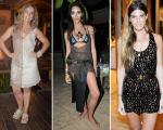 Bruna Lombardi, Lea T e Bianca Brandolini estão entre as mais bem vestidas de Trancoso || Créditos: Andre Ligeiro, Lea T e Bianca Brandolini