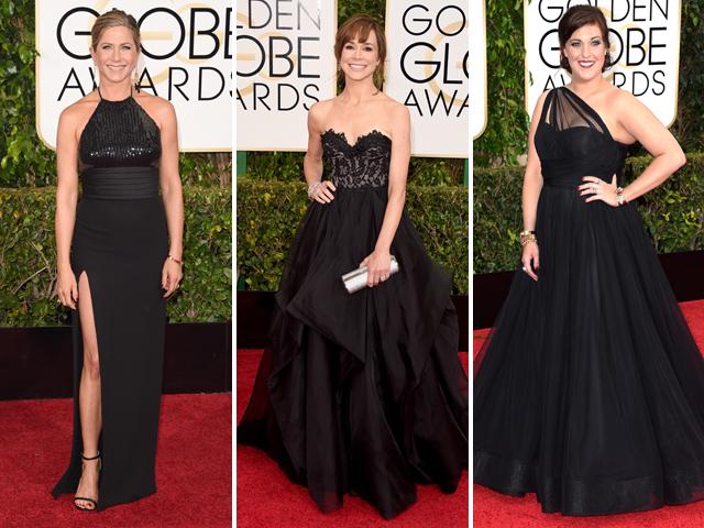 Jennifer Aniston,  Frances O'Connor e Allison Tolman    Créditos: Getty Images