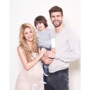 Filho recém-nascido de Shakira e Piqué já tem carteirinha do Barcelona